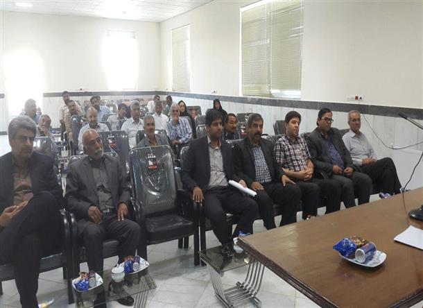 جلسه انتخاب شوراي بخش از بين نمايندگان 25 شوراي روستا