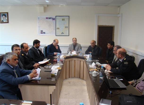 برگزاری جلسه فوق العاده شورای هماهنگی ترافیک شهرستان