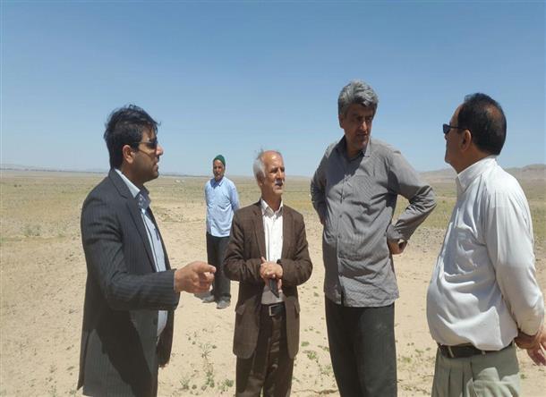 بازديد بخشدار مركزي شهرستان باتفاق اعضاي شوراي شهرستان از باند امداد و نجات