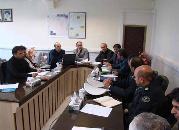 جلسه شورای هماهنگی ترافیک شهرستان فردوس