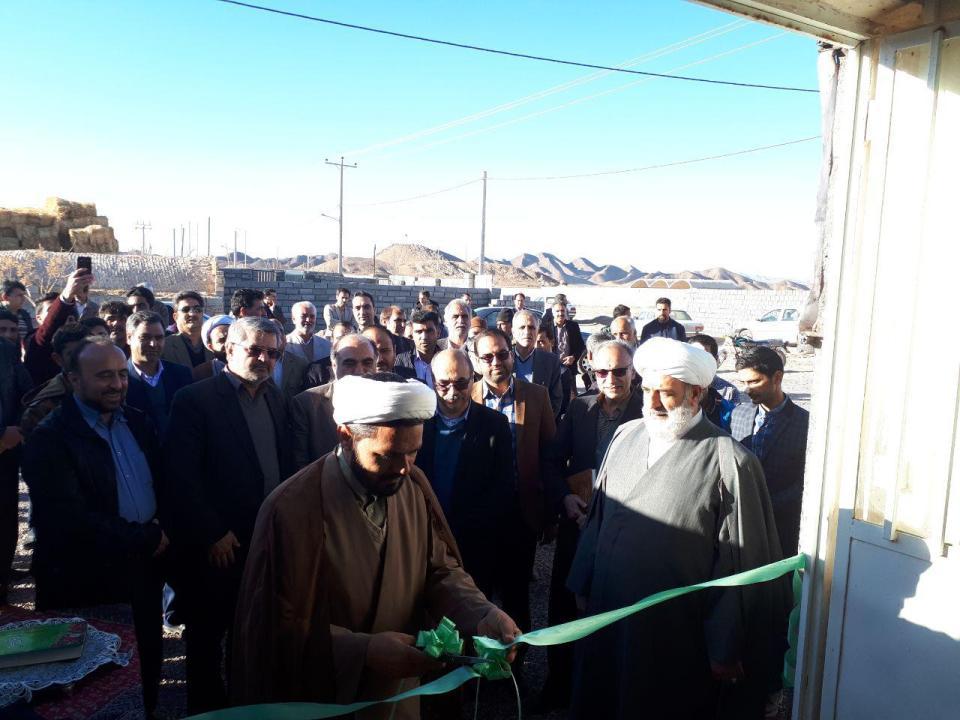 افتتاح مركز جمعآوري شير در روستاي خانكوك