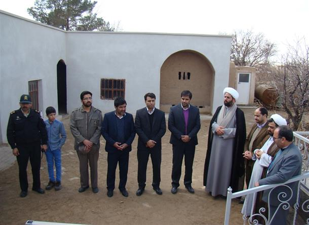 به مناسبت دهه مبارک فجر دیدار با خانواده معظم شهید مزدستان